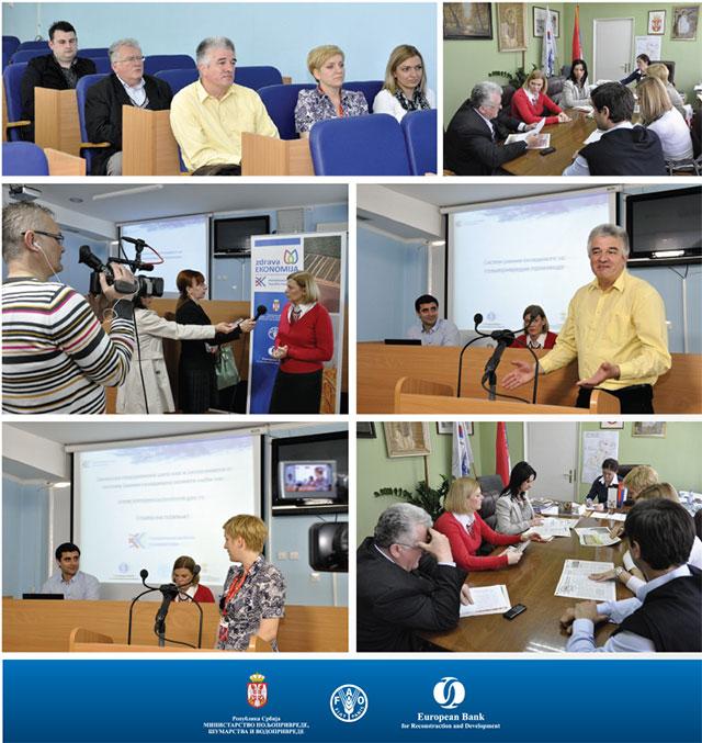 Zdrava EKONOMIJA - Karavan 2014 Backa Palanka